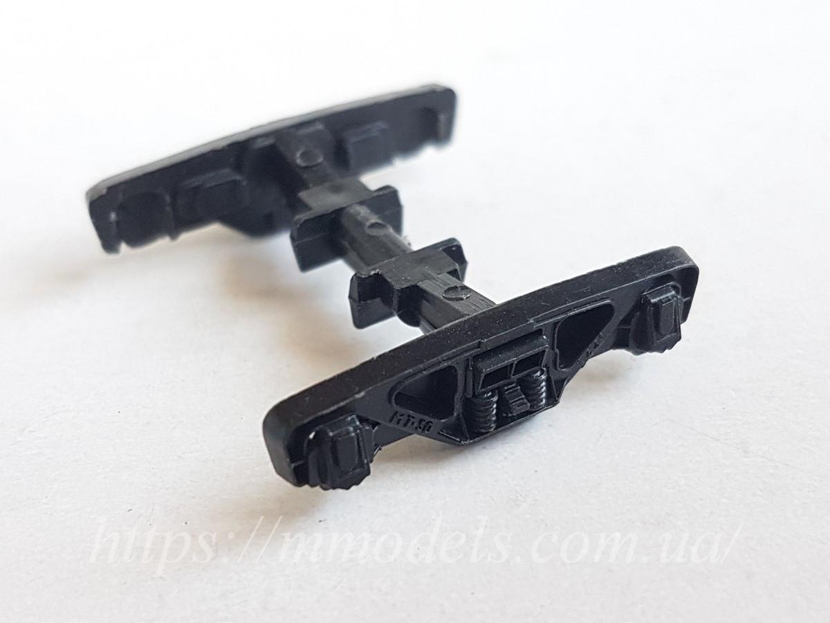 Запасные части для вагонов - рама тележки МТ-50 производства PIKO ГДР, масштаба 1/87,H0