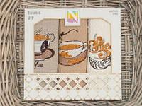 Набор кухонных вафельных полотенец Nilteks