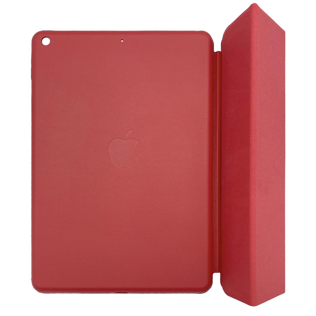 """Чехол-книжка кожа Smart Cover для Apple iPad 9.7"""" 5 / 6 (2017 - 2019) (A1822 / A1893) (red)"""