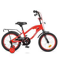 Велосипед детский 2-х колесный, 16 дюймов, сталь
