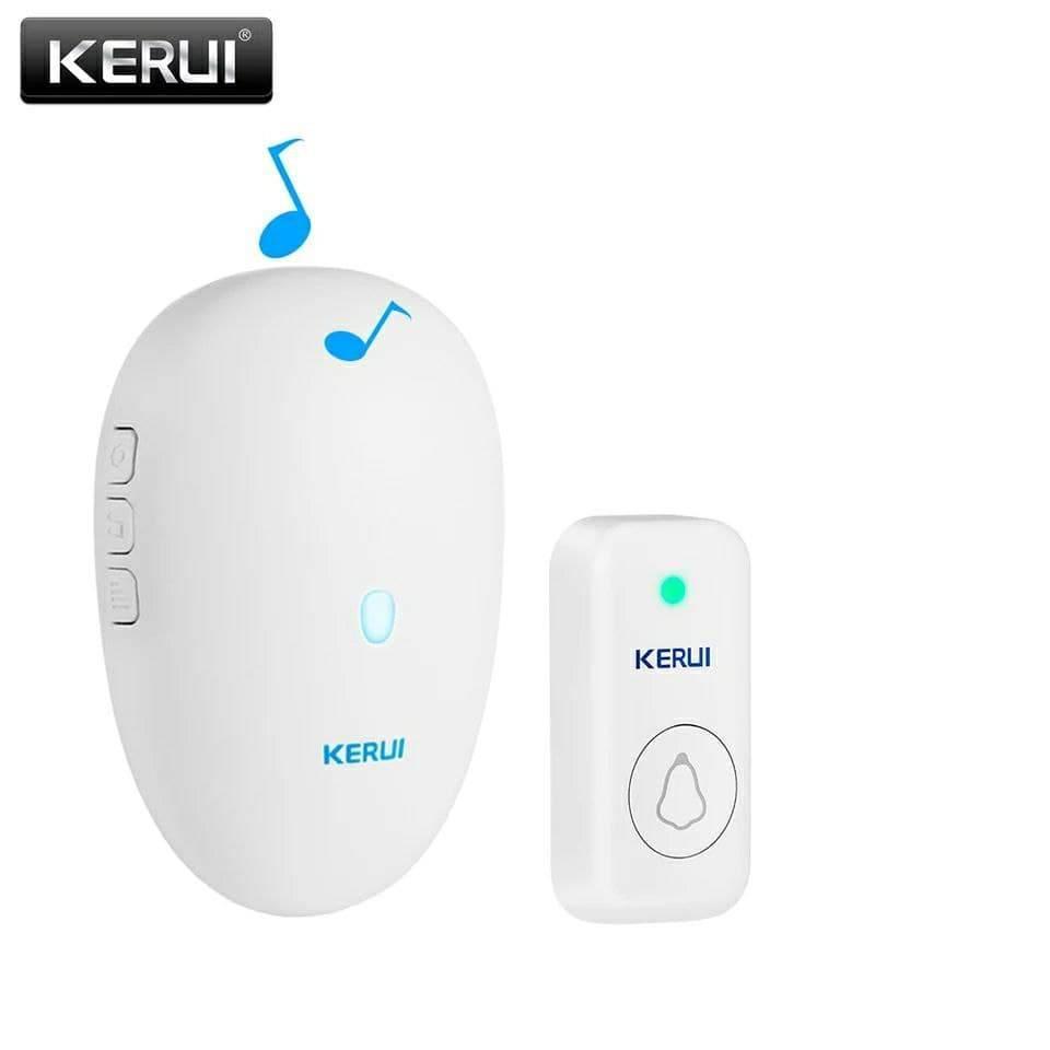 Беспроводной  дверной звонок IP55 KERUI M527. Белый.