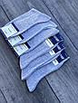 Шкарпетки чоловічі високі Житомир бавовна класичні 41-44 12 шт в уп сірі, фото 3
