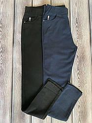 Джеггинсы увеличенных размеров, в черном и синем цвете размеры 48,50,52,54