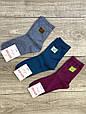 Женские носки средние носки стрейчевые Житомир Люкс с узором ветвь дерева 36-40 12 шт в уп темное ассорти, фото 2