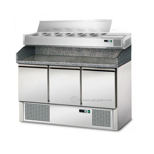 Холодильный стол с витриной для гастроёмкостей POS147/AGS143E GGM gastro (Германия)