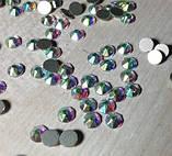 Стразы клеевые SWAROVSKI XIRIUS 16 граней 8+8 (копия) SS 20 Сrystal АВ Non-Hot Fix  1440 шт., фото 4