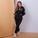 Женский спортивный костюм с капюшоном батал 3-156, фото 5