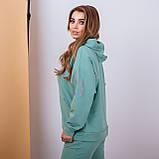 Женский спортивный костюм с капюшоном батал 3-156, фото 7