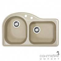 Кухонные мойки Alveus 1067500 - Мойка гранитная Alveus Algranit Futur 60-А51 (beige)