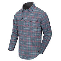 Рубашка с длинным рукавом Helikon-Tex® GreyMan Shirt - Graphite Plaid 2XL