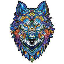 Деревянный пазл Величественный Волк