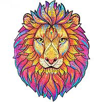 Деревянный пазл Таинственный Лев