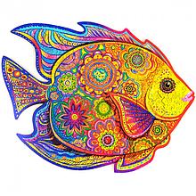 Дерев'яний пазл Сяюча рибка
