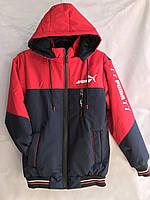 """Куртка юніор демісезонна PUMA на хлопчика, розміри 40-48 (2 цв) """"MUSTANG"""" недорого від прямого постачальника"""