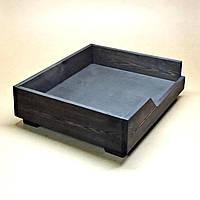 """Лежак деревянный для собаки """"Дерби 45х55"""" венге"""