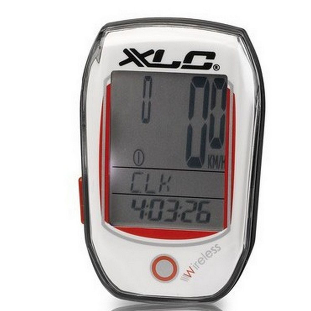 Велокомпьютер XLC BV-W03, 25 функций, белый (ST)