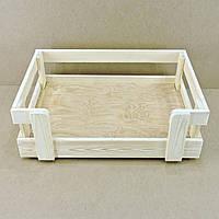 """Лежак деревянный для собаки """"Бонелли 70х45"""" бланже"""