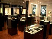 Изготовления торгового оборудования для ювелирных магазинов