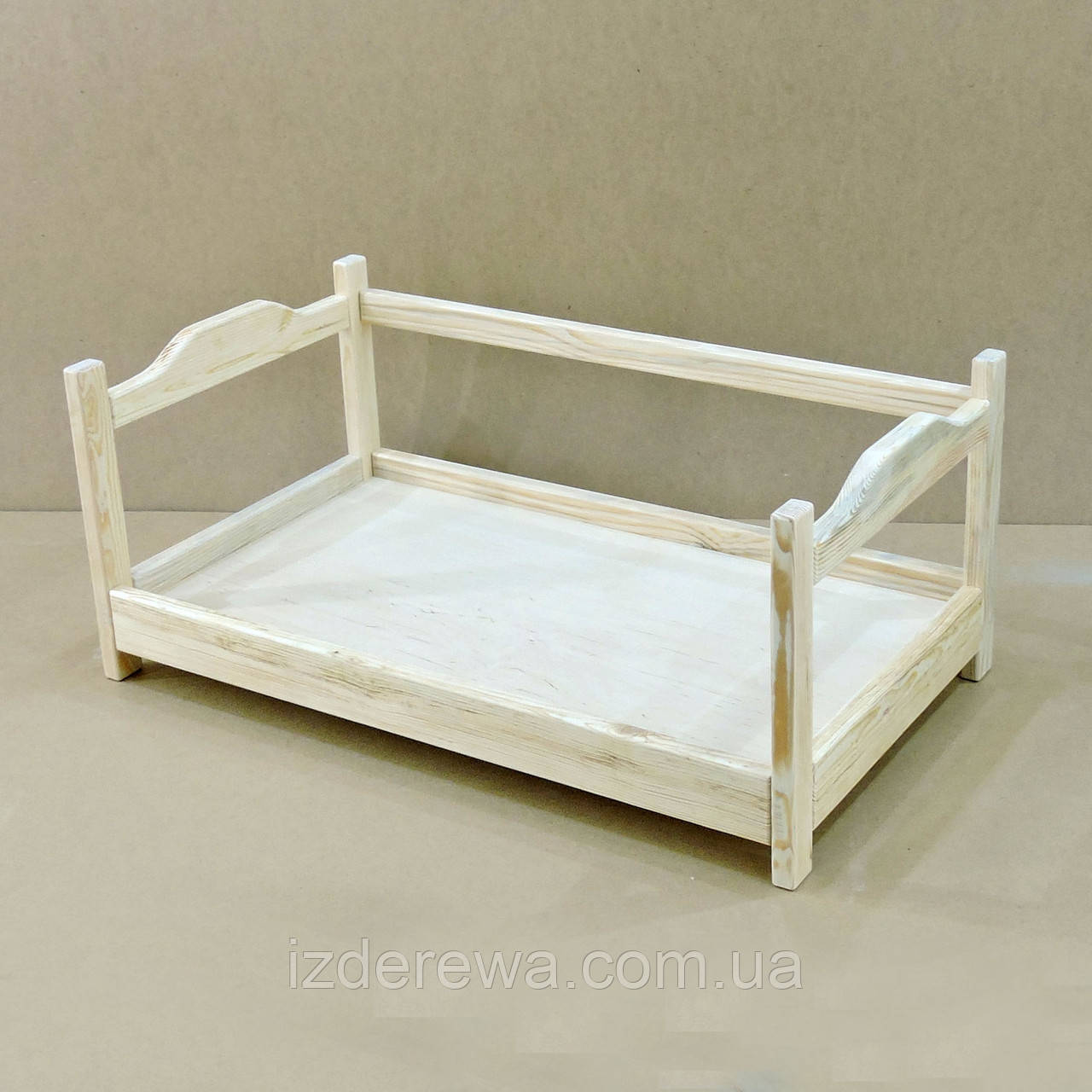 "Лежак дерев'яний для собаки ""Рамзай 105х60"" бланже"