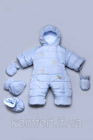 Детский зимний комбинезон для новорожденных, фото 2