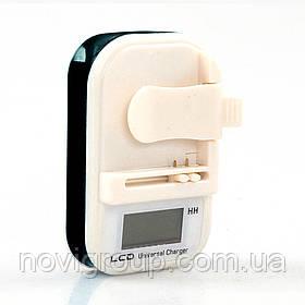Універсальний зарядний пристрій з LCD LXF813 для батарей 4.25 V 0.25 A, 220V, 1 * USB вихід, Black, Box