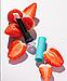 Сет для інтенсивного догляду за шкірою губ Letique бальзам для губ, скраб для губ, фото 4