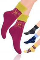 Женские хлопковые махровые носки steven