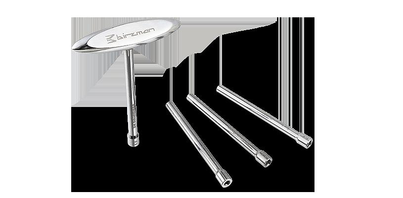 Ключ для спиц c Т-образной ручкой, черный, Birzman (ST)