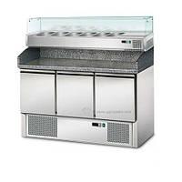 Холодильный стол с витриной для гастроёмкостей POS147/AGS143 GGM gastro (Германия)