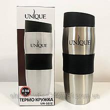 Термокружка UNIQUE UN-1072 0.38 л. Цвет: черный