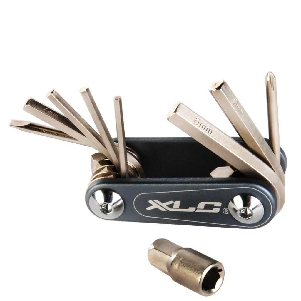 Набор шестигранников XLC Nano, 9 функций, серебристый (ST)