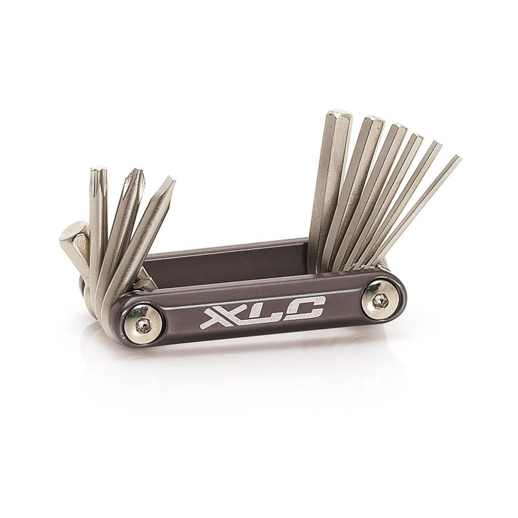 Набор шестигранников XLC TO-MT03, 10 функций, серебристый (ST)