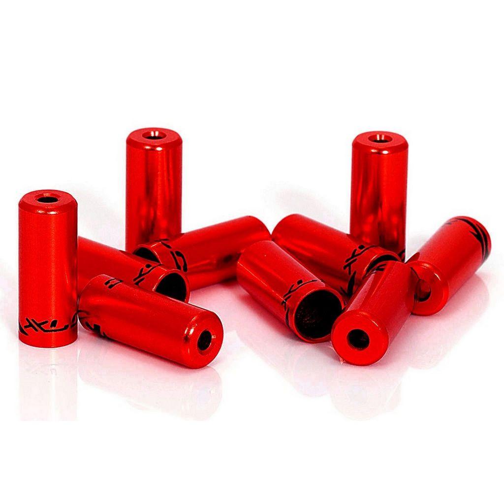 Наконечники гальмівні на сорочки XLC BR-X10, 5, 0мм, 50 шт, червоні (ST)