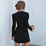 Женское платье, костюмка класса люкс, р-р 42-44; 46-48 (чёрный), фото 5