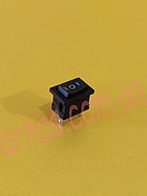 Кнопка одинарная трехпозиционная (13522A-19)