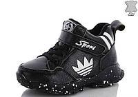 Модные Кроссовки - ботинки paliament (кожа) на флисе для мальчиков 26-29