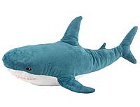 Мягкая игрушка акула Shark doll 60 см, фото 1