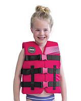Жилет страховочный детский JOBE Nylon Vest Youth Pink 244820003