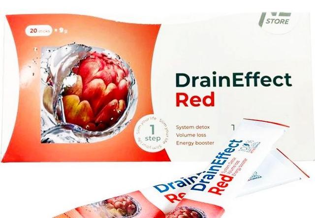 Дренуючий напій DrainEffect драйн дрейн red ред червоний