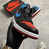 Nike Air Jordan 1 Retro High NC to Chicago (Чорний Синій), фото 2