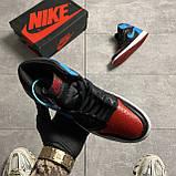 Nike Air Jordan 1 Retro High NC to Chicago (Чорний Синій), фото 3