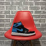 Nike Air Jordan 1 Retro High NC to Chicago (Чорний Синій), фото 5