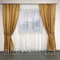 Штори для кухні спальні кімнати, штори і тюль на вікна в зал кабінет спальню, стильні штори в кімнату зал квартиру, штори монорей, фото 2