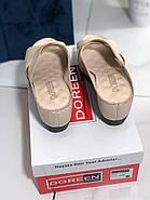 Жіночі сабо на танкетці Doren 21505-008-bej, фото 5