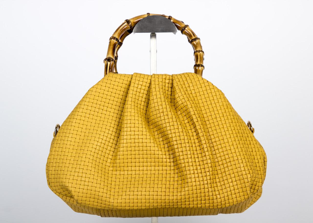 Сумка женская Assa 0585-1 желтая