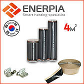 """Инфракрасный теплый пол электрический 4м² """"Enerpia"""" (Корея) Нагревательная Пленка"""