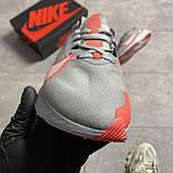 Nike Zoom Gravity Grey University Red (Сірий), фото 3
