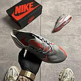 Nike Zoom Gravity Grey University Red (Сірий), фото 4