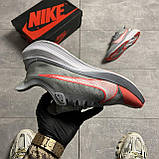 Nike Zoom Gravity Grey University Red (Сірий), фото 5