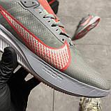 Nike Zoom Gravity Grey University Red (Сірий), фото 8